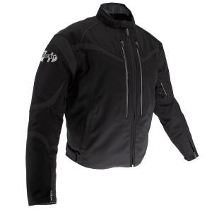 Joe Rocket Crossfire Mens Textile Motorcycle Jacket - Black