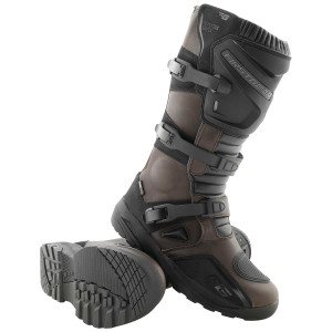 Firstgear Kathmandu Motorcycle Riding Boots - Brown