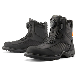 Icon Stormhawk Boots - Black