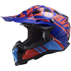 LS2 Subverter Evo Gammax Helmet-Red/Blue