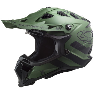 LS2 Subverter Evo Cargo Helmet-Army Green