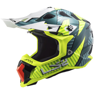 LS2 Subverter Evo Astro Helmet-Hi-Viz Yellow