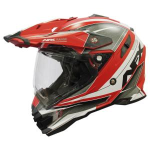 AFX FX-41 Range Helmet - Red