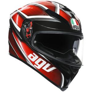 AGV K5 S Tempest Helmet - Black/Red