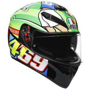 AGV K3 SV Rossi Mugello 2017 Helmet