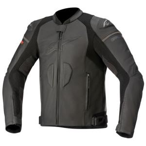 Alpinestars GP Plus R V3 Rideknit Leather Jacket - Black