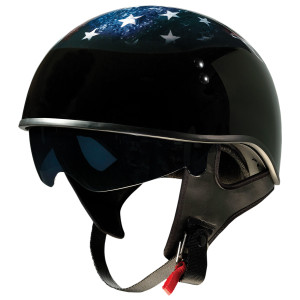 Z1R Vagrant USA Skull Helmet