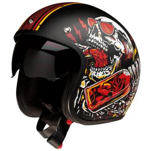 Z1R Saturn Devil Made Me Helmet