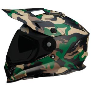 Z1R Range Camo Helmet - Woodland