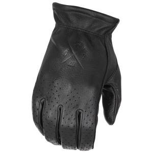 Highway 21 Perforated Louie Gloves - Black