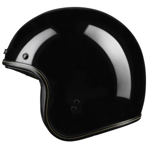 Highway 21 .38 Retro Helmet - Black
