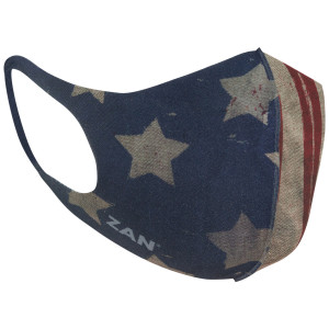 Zan Headgear Lightweight Neoprene Patriot Face Mask