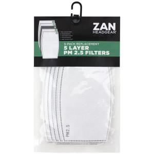 Zan Headgear Replacement PM 2.5 Filter 5/Pk