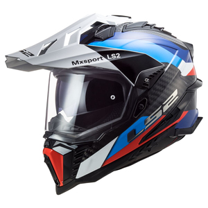 LS2 Explorer Carbon Frontier Helmet-Black/Blue
