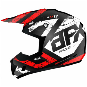 AFX FX-17 Attack Helmet - Red
