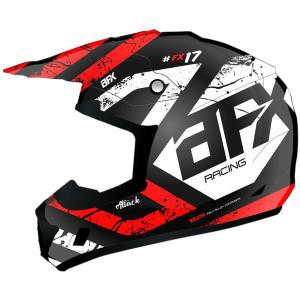 AFX FX-17 Youth Attack Helmet - Red