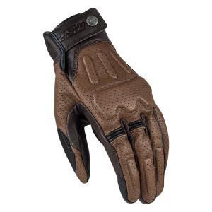 LS2 Rust Motorcycle Gloves-Brown