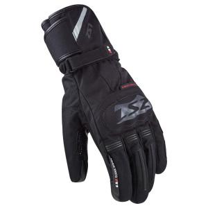 LS2 Snow Motorcycle Gloves-Black
