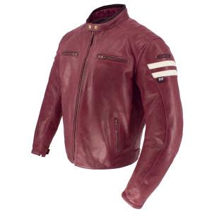 Joe Rocket 2021 Classic 92 Mens Leather Motorcycle Jacket - Burgundy
