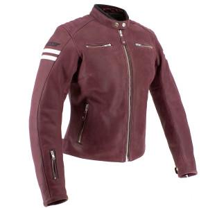 Joe Rocket 2021 Classic 92 Womens Leather Motorcycle Jacket - Burgundy