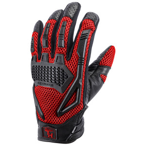 Tour Master Womens Horizon Line Switchback Gloves - Red