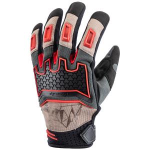Tour Master Womens Horizon Line Overlander Gloves - Sand