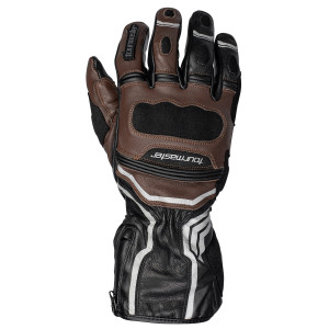 Tour Master Womens Super-Tour WP Leather Gloves - Brown