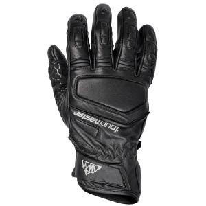 Tour Master Womens Elite Short Cuff Leather Gloves - Black