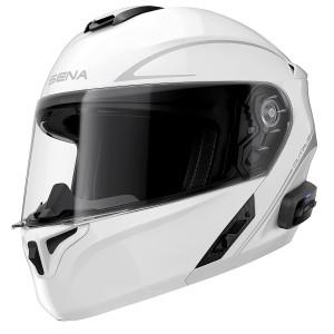 Sena Outrush R Flip-Up Modular Helmet-White