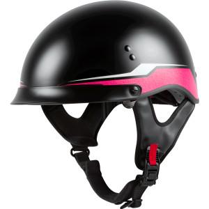 GMax Women's HH 65 Source Full Dressed Half Helmet
