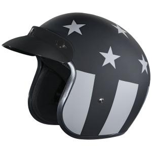 Daytona Cruiser Captain America Stealth Helmet