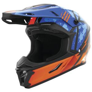 THH Youth T710X Battle Helmet - Blue/Orange