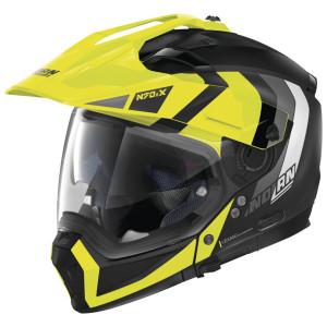 Nolan N70-2 X Decurio Helmet - Black/Yellow