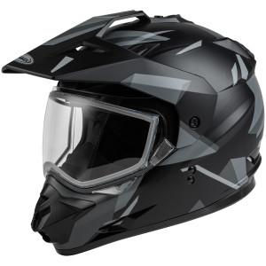 GMax GM-11S Ripcord Adventure Snow Helmet-Black/Grey