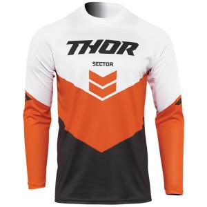 Thor Sector Chevron Jersey - White/Orange