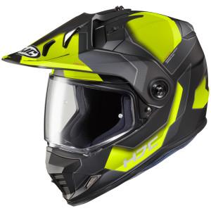 HJC DS-X1 Synergy Dual Sport Helmet - Hi-Viz