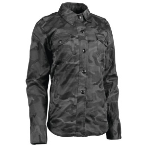 Speed and Strength Women's Speed Society Armored Shirt - Camo