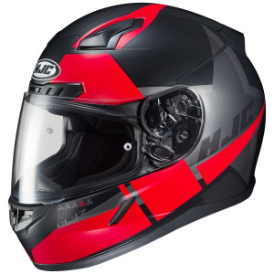 HJC CL-17 Boost Helmet-Black/Red
