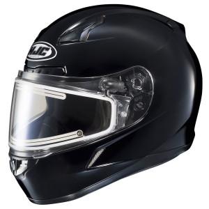 HJC CL-17 Electric Frameless Helmet - Gloss Black