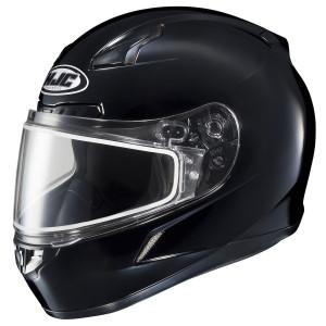 HJC CL-17 Dual Lens Frameless Helmet-Black