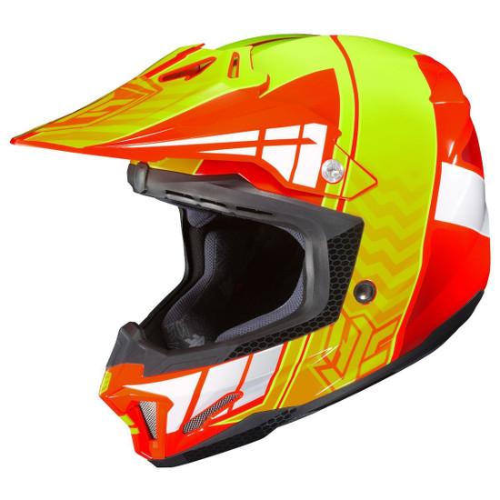 HJC CL-X7 Cross-Up Helmet-Orange