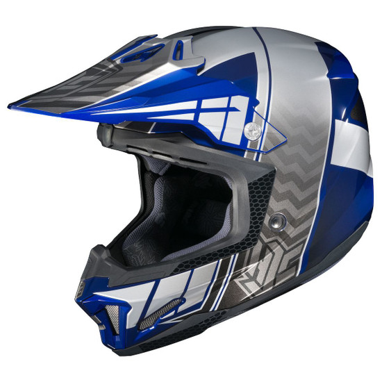 HJC CL-X7 Cross-Up Helmet-Blue