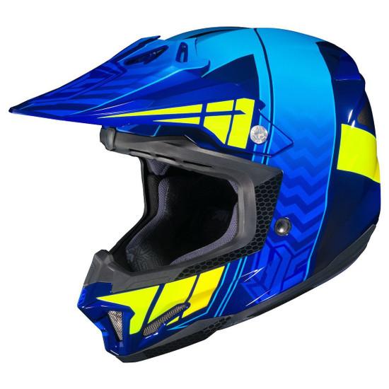HJC CL-X7 Cross-Up Helmet-Yellow
