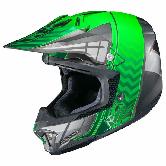 HJC CL-X7 Cross-Up Helmet-Green