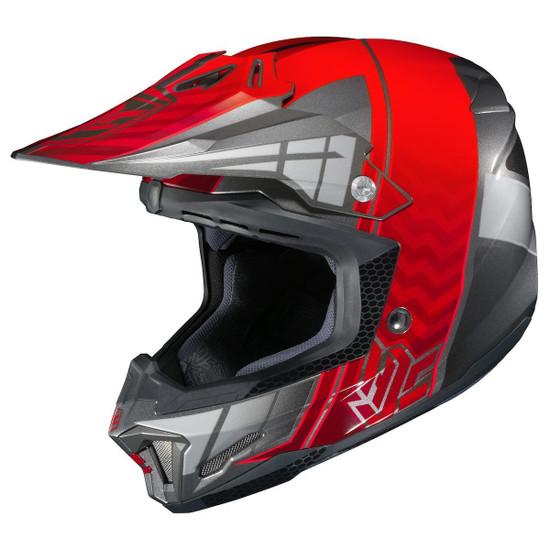 HJC CL-X7 Cross-Up Helmet-Red