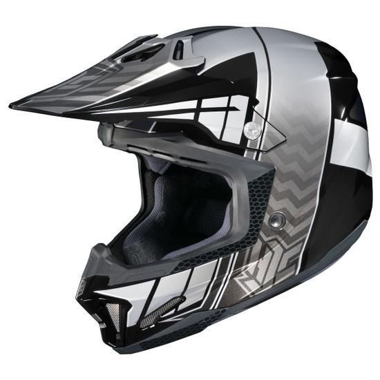 HJC CL-X7 Cross-Up Helmet-Black