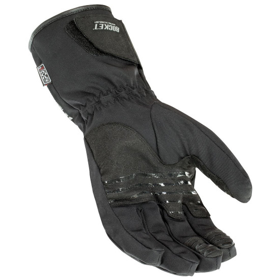 Joe Rocket Rocket Burner Heated Mens Textile Motorcycle Gloves - Palm View