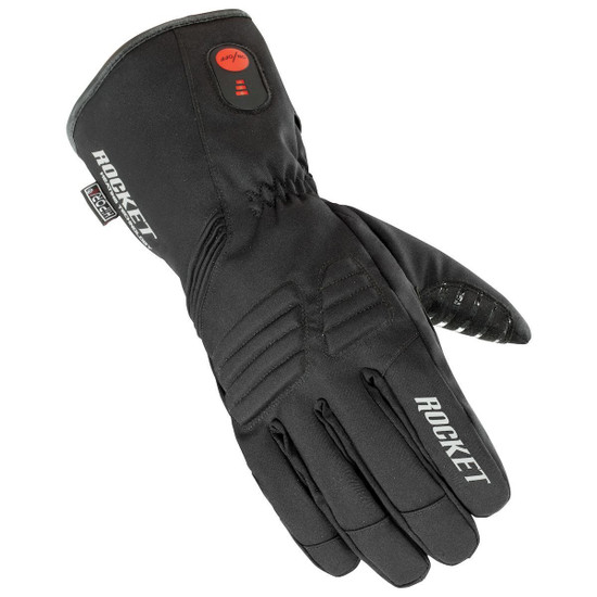 Joe Rocket Rocket Burner Heated Mens Textile Motorcycle Gloves