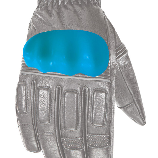 Joe Rocket Rocket Burner Heated Mens Leather Motorcycle Gloves - Detail