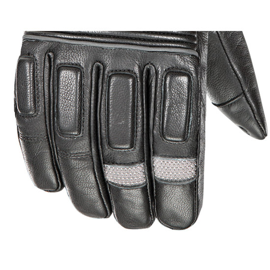 Joe Rocket Rocket Burner Heated Mens Leather Motorcycle Gloves - Zoom View